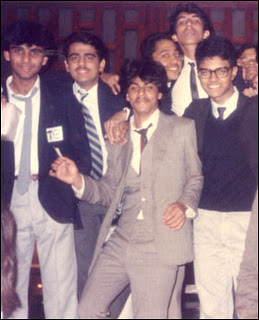 Shahrukh in his college days-Facts