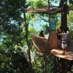 Soneva Kiri Resort – Restaurant at the Treetop in Thailand