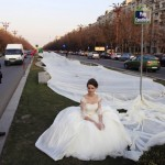Worlds Longest Wedding Dress is 1.85 Mile…Amazing ??