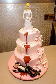 bizzare cakes divorce cake